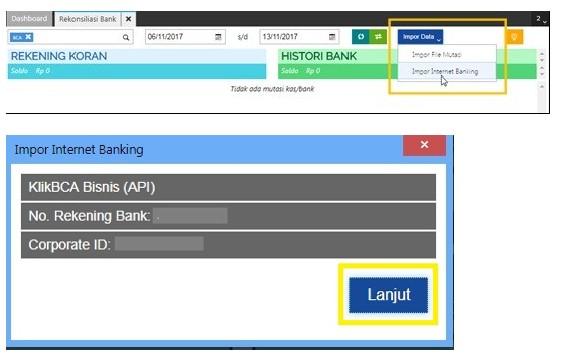 Rekonsiliasi Bank Accurate Online - step 4