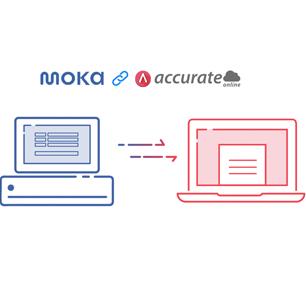 Accurate Online Kerjasama Dengan Moka Pos Perkuat Market Retail