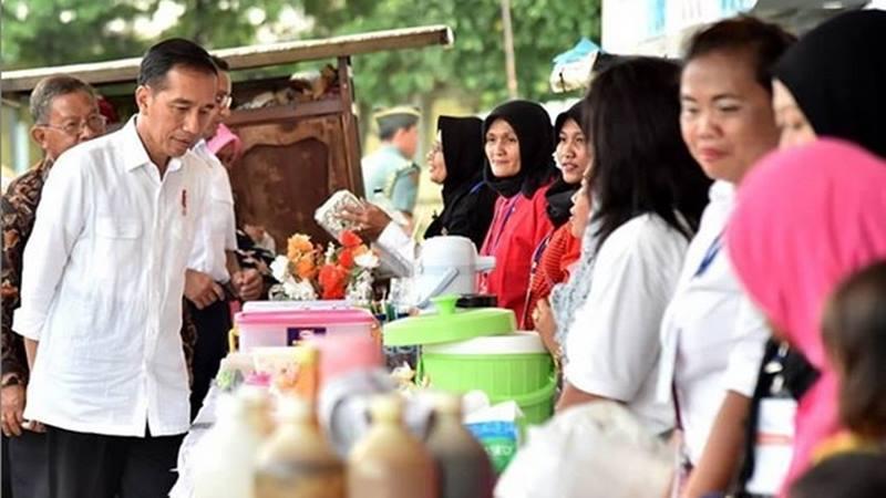 Jokowi UKM UMKM Ekspor