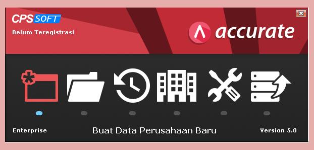 Membuat Database Baru Di ACCURATE 5
