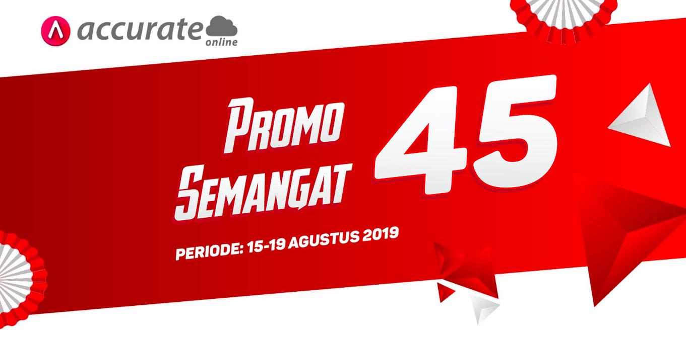Promo Accurate Online Semangat 45